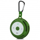 SEE ME HERE BV200 Handy Outdoor Wireless Bluetooth Speaker w/ TF / Microphone - Green (16GB Max.)