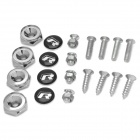 R Type License Plate Fixing Screws