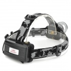 LWJ-45 600lm 3-Mode White Zooming Headlamp w/ CREE XM-L T6 - Grey (1 / 2 x 18650)