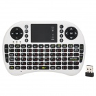 SY-UKB-500-RF 2.4GHz Mini Wireless German Keyboard Mouse Combo - Black + White