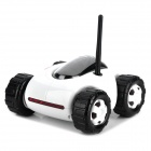Cloud Rover Real-Time iOS / Android Device Controlled R/C Car w/ Night Vision - White