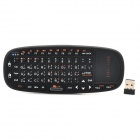 SY-RT-K10 Mini 2.4GHz Wireless Arabic 70-Key Keyboard - Black