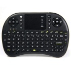 SY-UKB-500-RF 2.4GHz Mini 92-key Wireless German Keyboard Mouse Combo - Black