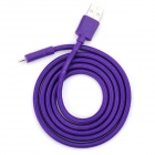 USB to 8-Pin Lightning Sync Data Cable for iPhone 5 - Purple