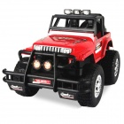LX 3040-1 01.16 2-Kanal Super Power Off-Road Hummer R / C Car - rot + schwarz