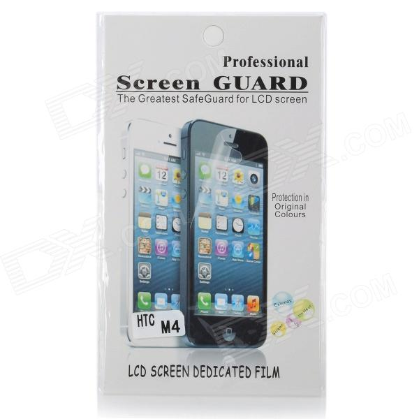 Protective Clear Screen Protector Film Guard for HTC 601e One Mini M4 - Transparent