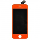 Replacement PVC + Glass Screen for iPhone 5 - Orange