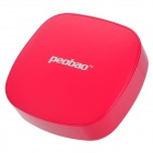 Peobao Dual USB 5V 6000mAh Li-ion Battery Power Bank for iPhone / Samsung / HTC + More - Red