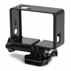 SMJ Protective Side Frame w/ Screws + Push Buckle for Gopro Hero 4/3 - Black