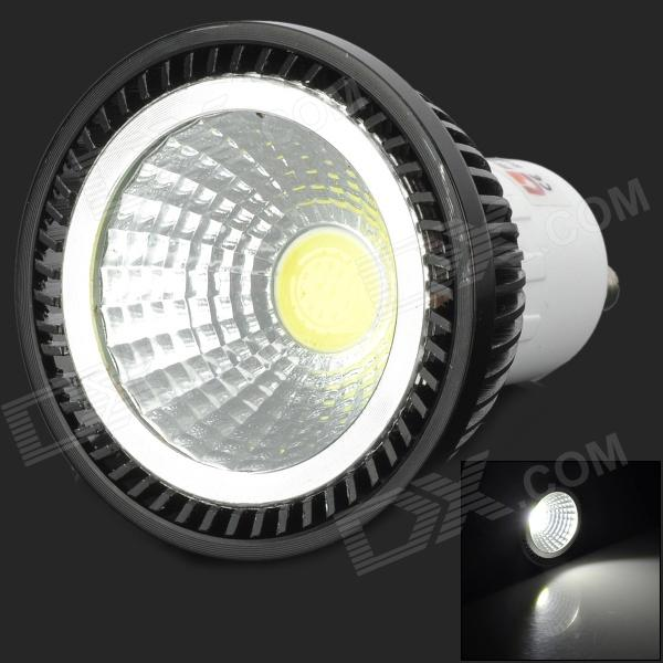 Lexing Lighting LX-COB-002 GU10 3W 240lm 7000K COB White Light Spotlight Bulb - Black + Silver lexing lx r7s 2 5w 410lm 7000k 12 5730 smd white light project lamp beige silver ac 85 265v