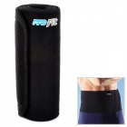 PORFIT PB001 Protective Polymer Rubber Warmer Waist Support for Sports / Exercise - Black