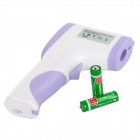 "DT-1190 1.7"" LCD Non-contact IR Thermometer - White + Purple (2*AA)"