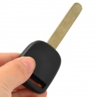 Replacement End Milling Key Case for Honda Car - Black + Beige