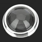 JR-67mm Replacement High Borosilicate Convex Lenses for Flashlight - Silver