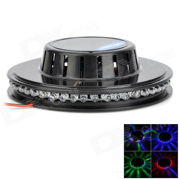ZnDiy-BRY Mini-LED Sunflower Effect 8W 48-LED RGB Voice-Activated Stage Party Light (US Plug) new d19 sound activated 5w 48 led rgb crystal magic sunflower light white