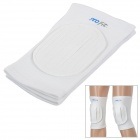 PORFIT PK306 Shock Absorption Warm Polymer Rubber Kneecap for Sports / Exercise - White (2 PCS)