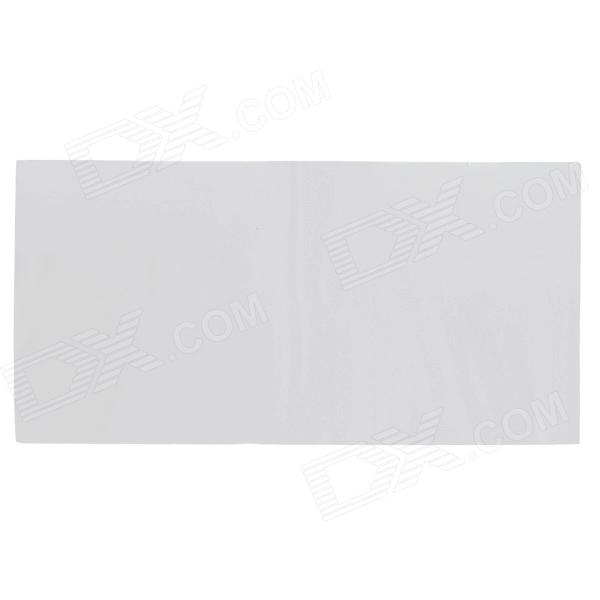 ZnDiy-BRY 0.5T Heat Conducting Soft Cuttable Silicone Sheet - Greyish White (400 x 200 x 0.5mm) gd460 thermal conductive grease paste silicone plaster heat sink compound net weight 30 grams silver for led ps4 cpu cooler sy30