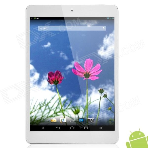 Colorfly U781 Q1 8 IPS Quad Core Android 4.2 Tablet PC w/ 1GB RAM / 16GB ROM - Silver + White colorfly g718 7 ips octa core android 4 2 wcdma 3g tablet pc w 1gb ram 16gb rom wi fi bluetooth