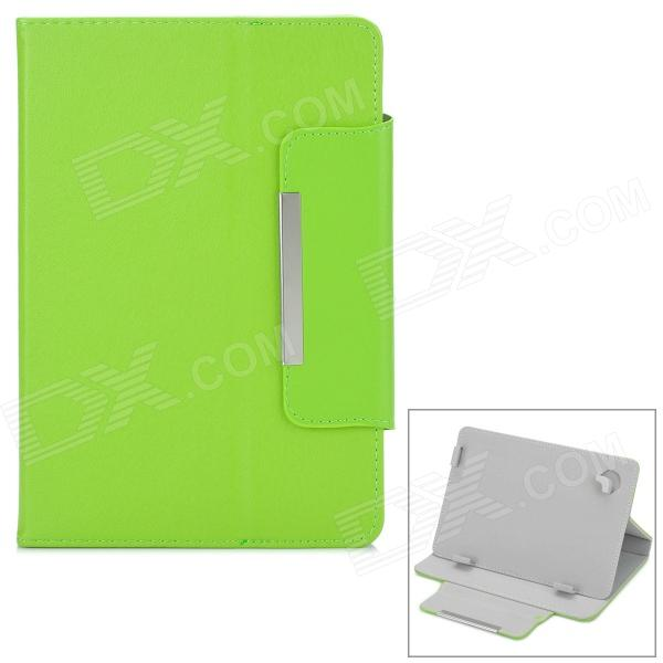 Universal Stylish Flip-open PU Leather Case w/ Fastener / Holder for 7.9 Tablet PC - Green - DXTablet Cases<br>Brand N/A Quantity 1 Piece Color Green Material PU Style Cases with Stand Type For Tablets Compatible Model 7.9 tablet PC Packing List 1 x Case<br>