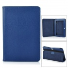 "715 Stylish Litchi Pattern Flip-open PU Leather Case w/ Holder for 7"" Tablet PC - Hyacinthine"