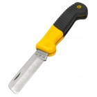 MARELKE M-30318 Straight Blade Electriian's Knife - Yellow + Black + Silver