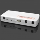 Heacent 14000mAh Multifunctional Power Bank Jump Starter for Car + Mobile Devices - White