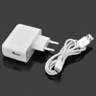 High Quality AC Charging Adapter Charger w/ USB Cable for Google Nexus 7 / Nexus 7 II - White