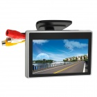 "4"" Monitor Display w/ Holder / Suction Cup for Car - Black"