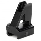 Universal Aluminum Alloy Gun Sight for 20mm Rail Gun - Black