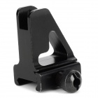 Universal alliage d'aluminium Gun Sight pour rail de 20mm Gun - Noir