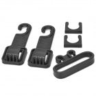 S2213W Car Headrest  Luggage Holder Hook - Black