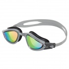 Sinca S988M-Silver Electroplated Anti-Fog Lens Swimming Goggles - Gray
