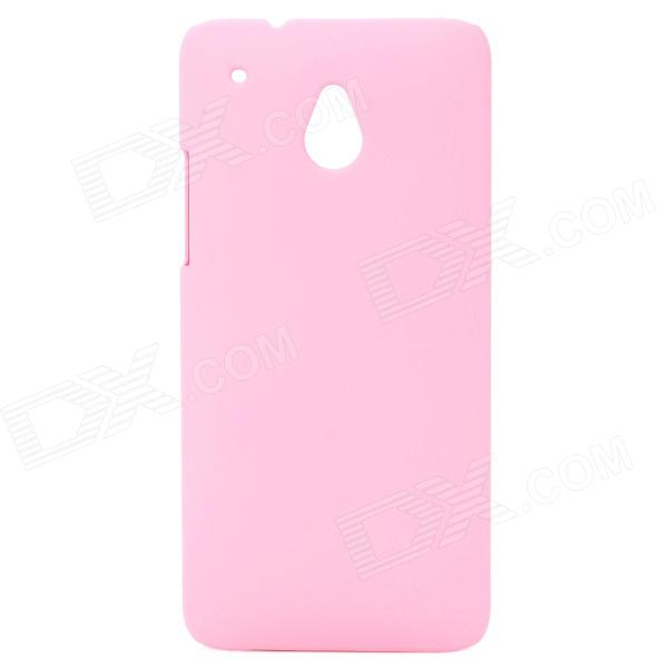 Protective Plastic Back Case for HTC One Mini / M4 - Pink protective plastic back case for htc one mini m4 pink
