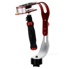 E-128 Handheld Stabilizer for Digital Cameras - Red + Silver + Black