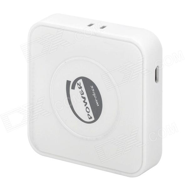 5V 1000mA Mini QI Standard Wireless Charging Transmitter  for Nokia / Samsung + More - White