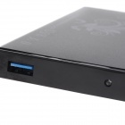 "Aluminum Alloy USB 3.0 2.5"" SATA External Case Mobile HDD Enclosure - Black"