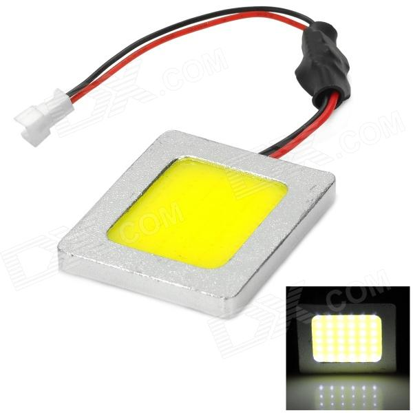 T10 + 32mm~42mm Festoon 3.6W 124lm Epistar 36-COB LED White Car Reading Light (DC 12~24V) t10 32mm 42mm festoon 3 6w 124lm epistar 36 cob led white car reading light dc 12 24v