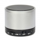 Bluetooth V3.0 Speaker w/ Handsfree / TF Card Slot - Silver + Black