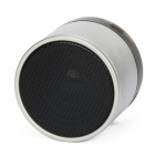 Bluetooth V3.0 Speaker w / Handsfree / TF Slot para cartão - Prata + Preto
