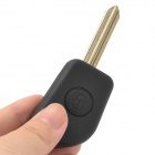 Replacement 2-Button Remote Key Case for Citroen Elysee - Black + Beige