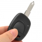029766 1-Button Remote Key Case for Renault - Black  +Silver