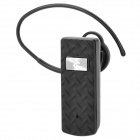 E200 Universal Wireless Bluetooth v2.1 Earbud Headset w/ Microphone for Iphone / HTC + More - Black