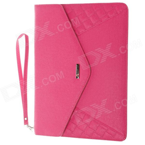 "G-COVER PU Leather Hand Bag para Ipad 2/3/4 / Samsung Galaxy Tab P5100 10 ""Table PC - Deep Pink"