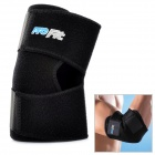 PORFIT PE003 Adjustable Polymer Rubber Sports / Exercise Protective Elbow Support Pad Guard - Black