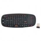 SY-RT-K10 Mini 2,4 GHz Wireless deutschen 70-Key Keyboard - Schwarz
