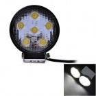 UltraFire 18W 1080lm 6000K 6-LED White Light Car Spotlight / Roof Light / Engineering Lamp