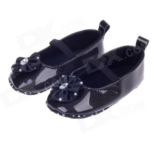 Details about BABY BOYS PATENT NAVY WHITE BLACK PRAM SHOES CHRISTENING SMART FORMAL PARTY. BABY BOYS PATENT NAVY WHITE BLACK PRAM SHOES CHRISTENING SMART FORMAL PARTY. Seller information. 0 - 6 months outer sole 10cm. 6 - 9 months outer sole 11cm. 9 - 12 months outer sole 12cm. 12 - 18 months outer sole 13cm.