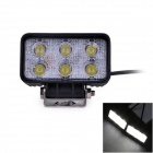 UltraFire 18W 1179lm 6000K 6-LED White Car Light Spotlight / Roof Light / Engineering Lamp