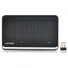 LOFREE MT-200 2.4GHz Wireless 48-key Touch Panel Keyboard w/ Auto Sleep - Black + Silver