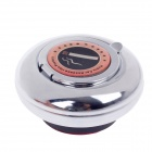 CH-010 Portable Car Stainless Steel Ashtray w/ Magnet - Silver